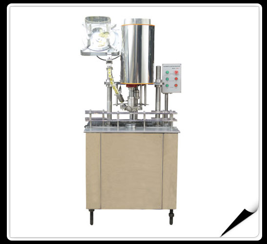 The Production Line Of Washing And Filling And Capping Machines  > Automatic capping machine