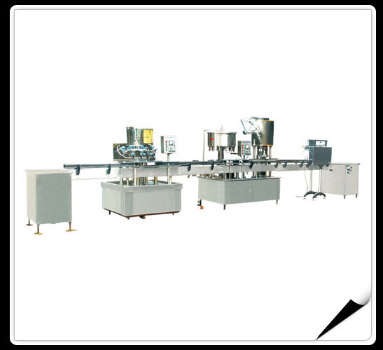 The Production Line Of Washing And Filling And Capping Machines  > The production line of washing,filling and capping machine